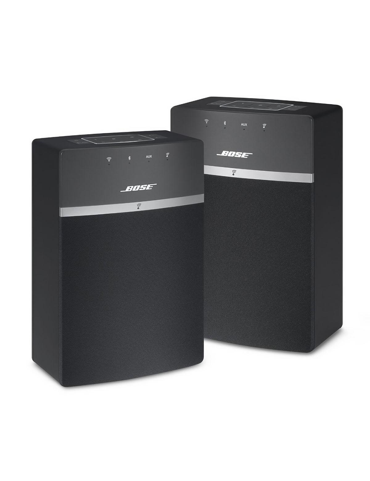 2x Bose SoundTouch 10 Double Pack, černá