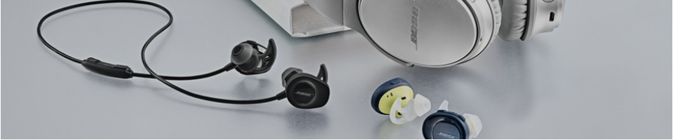 Sety reproduktorů a sluchátek Bose