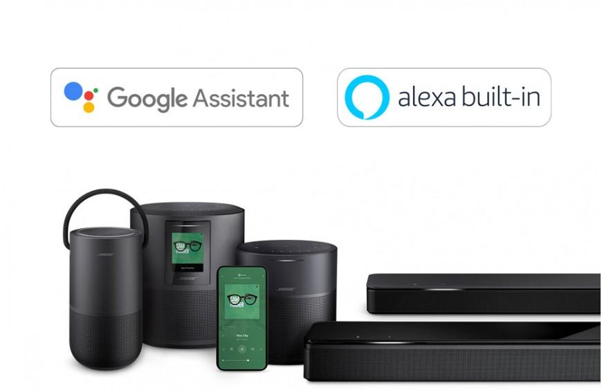 Jak v Česku u produktů Bose aktivovat Alexu a Google Assistant